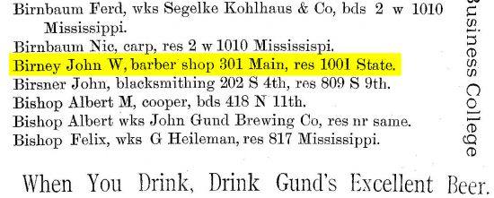 Birney_John_W_1884-85_La_Crosse_City_Directory_cropped_highlighted.jpg