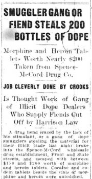 1915-9-9_Trib_p1_smugglers_gang_or_fiend_steals_200_bottles_of_dope_CROPPED.jpg