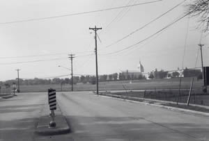 Intersection Losey Boulevard South and Mormon Coulee Road looking south, 1970