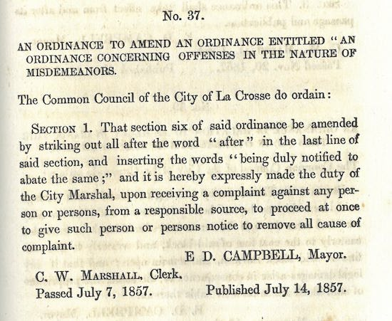 1863_charter-and-ordinances-of-the-city-of-la-crossse_p108-109.jpg