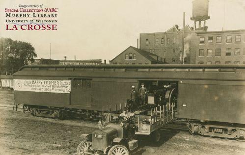 La Crosse Public Library Archives :: Happy Farmer Tractors